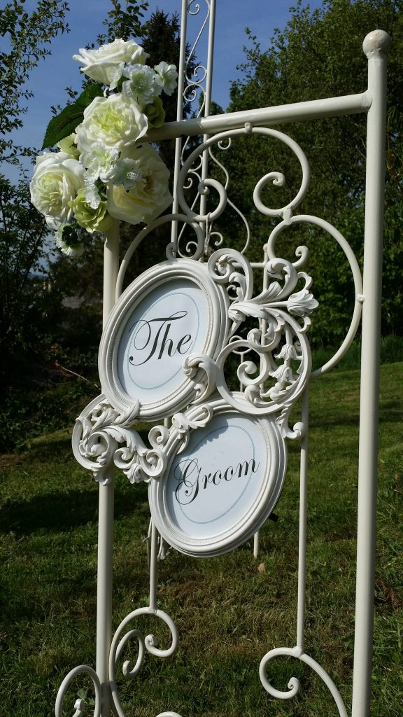 hire frames for wedding chairs