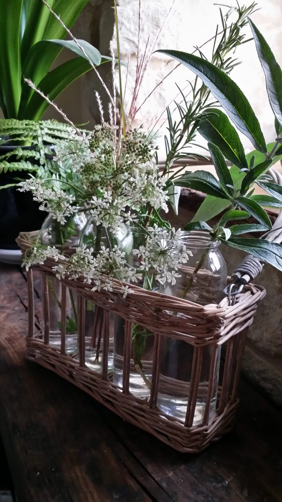 wild woodland basket hire for a woodland wedding idea