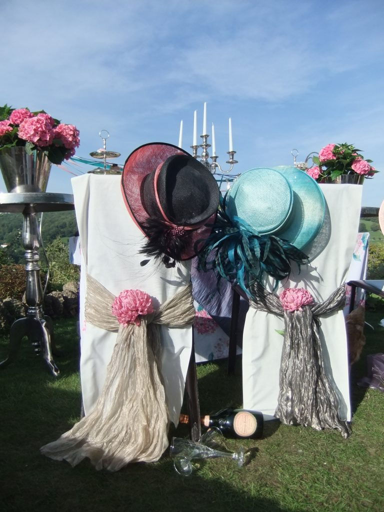 Hire wedding hats for summer weddings
