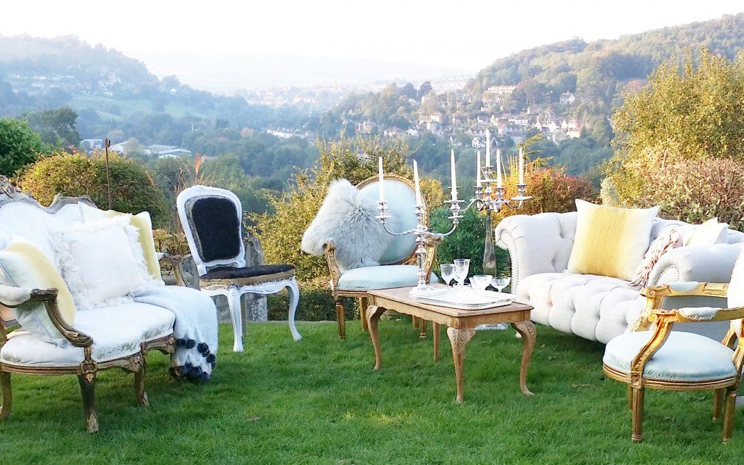 hire vintage furniture for weddings