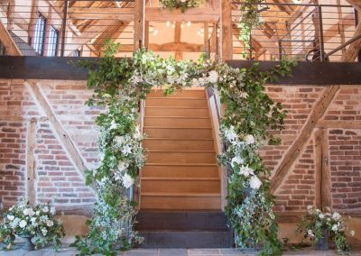 woodland wedding arch to hire